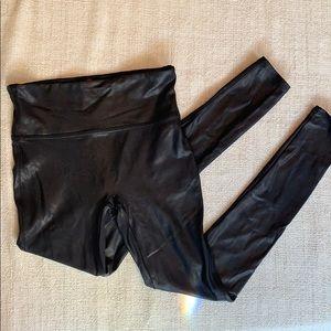 Spanx faux leather leggings!